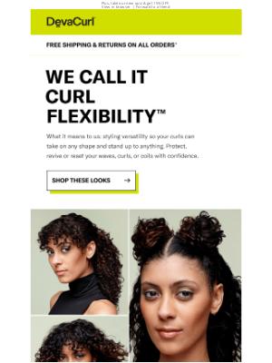 DevaCurl - Shop Curl Flexibility™ Looks →
