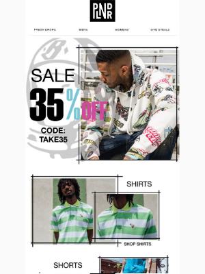 🚨 Sale Alert: Take 35% OFF