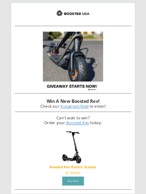 Boosted Boards - Up for Grabs - Boosted Rev