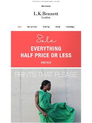 Prints that please: All half price or less