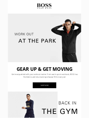 HUGO BOSS - Own Your Workout
