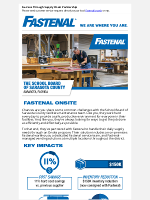 Fastenal - Get Insight Into Onsite