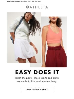 Athleta - Just Landed: New Skirts & Skorts