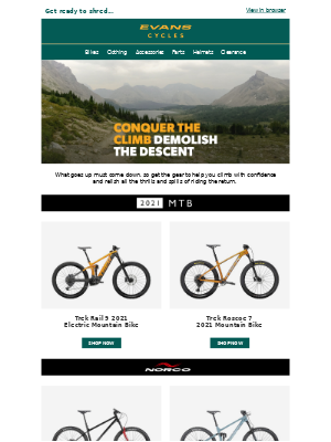 Evans Cycles (UK) - Add some extreme to your day!