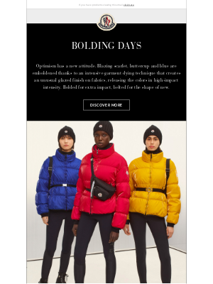 Moncler USA - New In | Bolding days