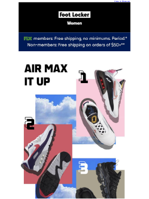 Foot Locker - 🙌🌬️ New Air Max styles for the win!