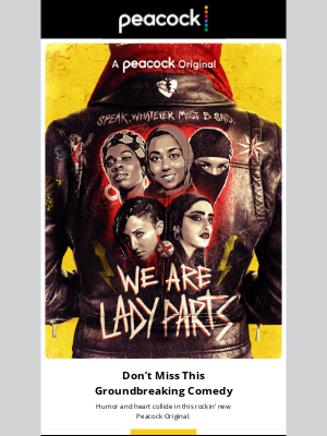 Get ready to rock! We Are Lady Parts is streaming now.