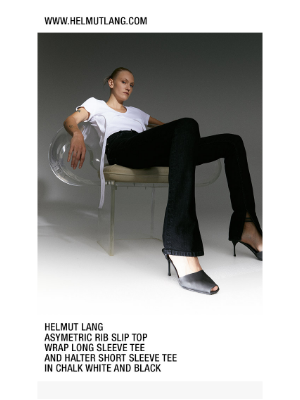HELMUT LANG - Shop Shop the latest new arrivals for women. Plus, save up to 70% off markdowns when you take an EXTRA 25% off sale