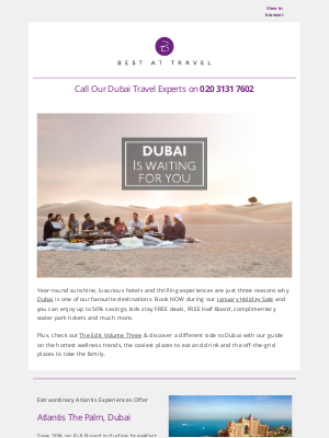 Best At Travel (UK) - Our BEST Dubai Holiday Offers!