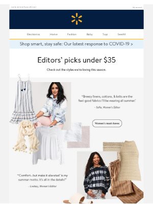 Must-have summer fashion under $35 ☀️