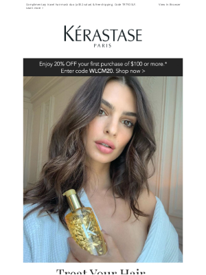 Kérastase - It's National Treat Yourself Day! See All The Ways