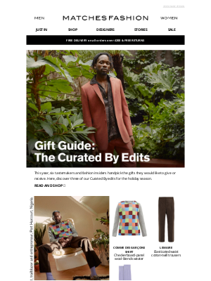 Matches Fashion (UK) - Holiday gifts, Curated By insiders