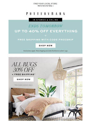 ALL Rugs 30% Off (Your Order Ships Free)