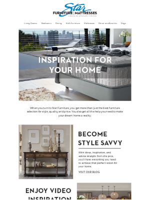 Star Furniture - Looking for design inspiration and help?