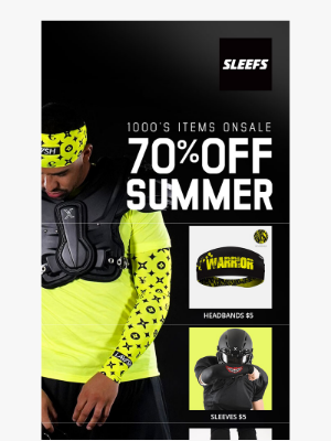 Summer Blowout Up to 70% OFF at SLEEFS.com