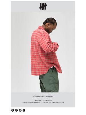 Undefeated - UNDEFEATED FALL '20 DROP 6 AVAILABLE NOW