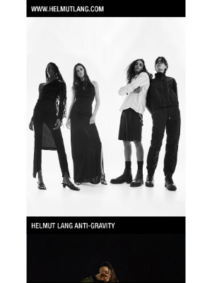 HELMUT LANG - Helmut Lang Anti-Gravity. S/S 2021 Collection