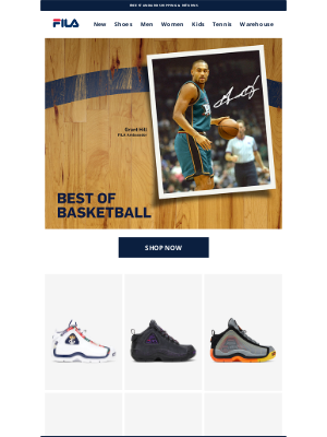 Fila Inc. - The Best of Basketball