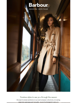 Barbour (UK) - New styles | Timeless womenswear for the season ahead