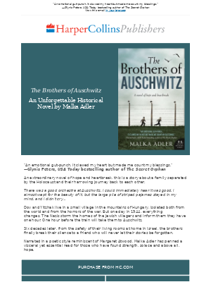 HarperCollins (UK) - Read this extraordinary Holocaust novel of hope and heartbreak