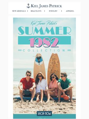 Introducing Kiel James Patrick's 'Summer 1982' Polo