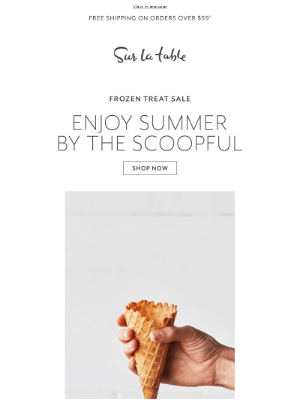 Sur La Table - 🍦 Cool off with summer's hottest treats.