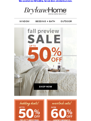 It's Here ––– Fall Preview SALE!