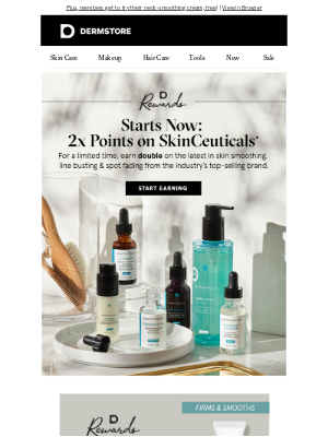 DermStore - It's here! Earn 2x points on SkinCeuticals