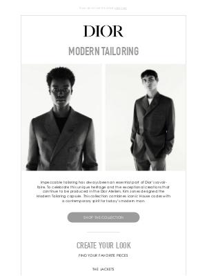 Dior UK - Discover Modern Tailoring