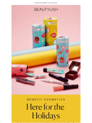 Beautylish - A new ready-to-gift (or keep!) Benefit collection