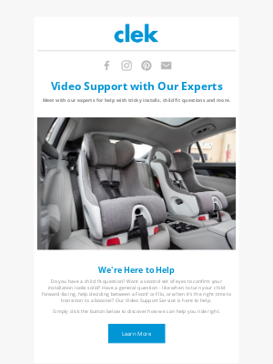 Clek - Connect Virtually with Clek Experts