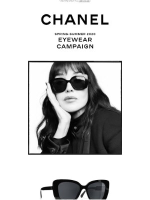 New CHANEL sunglasses now on Chanel.com