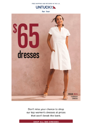 Our Best Summer Dresses: Now $65