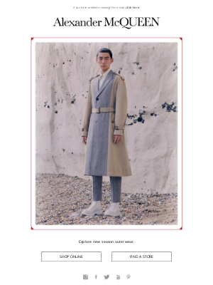 Alexander McQueen - New In   Outerwear