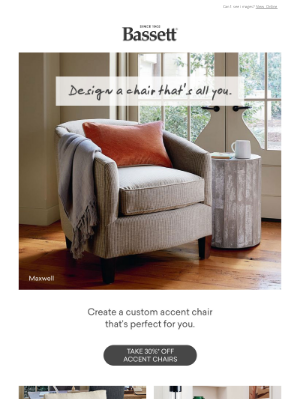 Bassett Furniture Industries - Your Chair, Your Way.