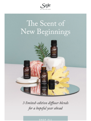 Saje Natural Wellness - 2021 is about to smell really good