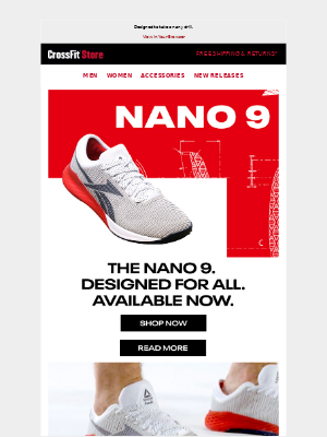 CrossFit Inc. - The New Nano 9