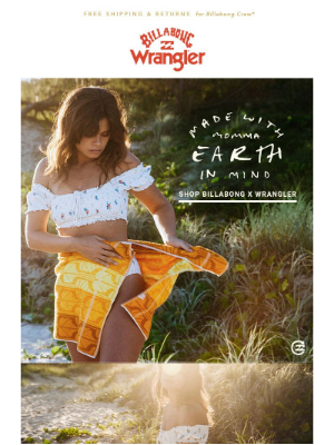 Billabong - Made With Momma Earth In Mind!