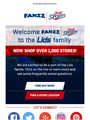 Utah Jazz - Fanzz Joins The Lids Family - Learn More