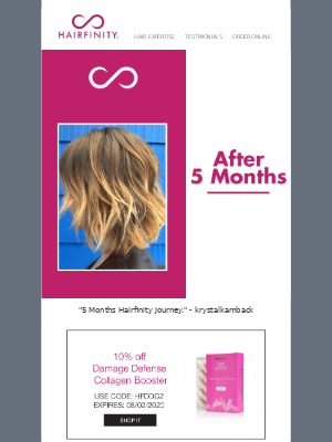 Transformation Tuesday: 5 Months Hair Transformations!
