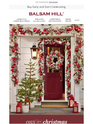 Balsam Hill - Can't wait for Christmas?