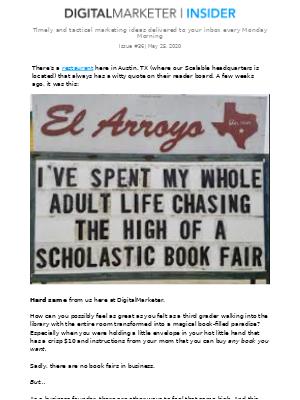 📚 remember Scholastic book fairs?