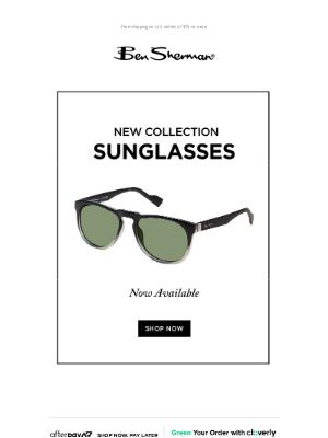 Ben Sherman - Shop Our New Sunglasses