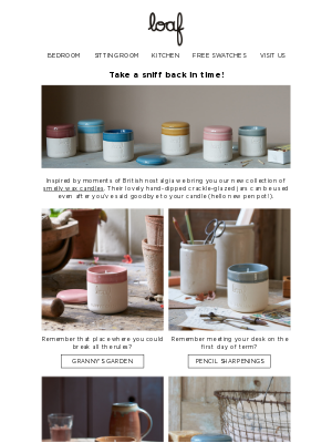 Loaf (UK) - Check out our NEW candles!