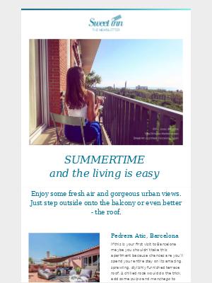 June newsletter - finally stepping outside