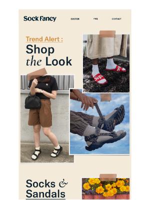 Sock Fancy - Trend alert: Quarter Socks ⚡