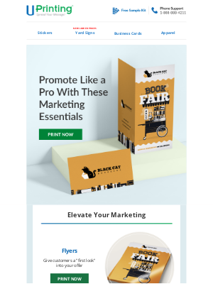 UPrinting - Make Your Next Promotion a Success