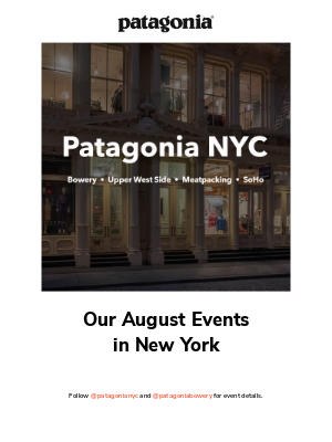 Great events in August