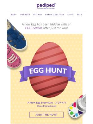 Pediped - A new Egg has been Hidden