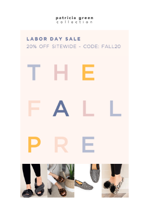 Simply Soles - Now On: The Labor Day Sale